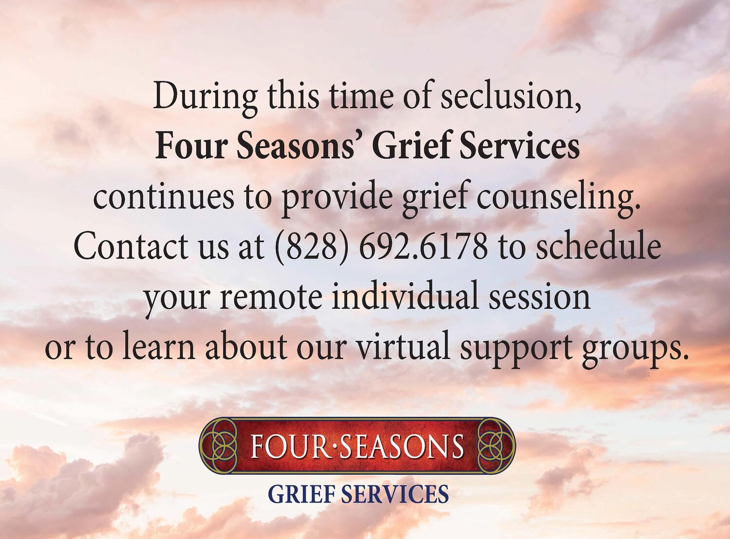 Grief Services March 2020 Message