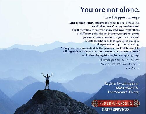 Grief Support Group 10.11.2020