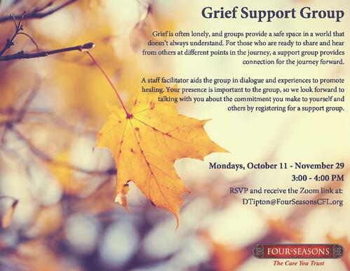 Grief Support Group- Daniel Tipton FINAL