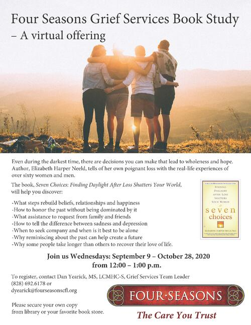 Seven Choices. Grief Services Book Study 2020.FINAL 2