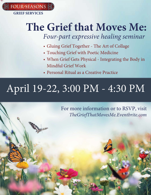 The Grief that Moves Me Flyer